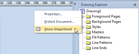 Document ShapeSheet