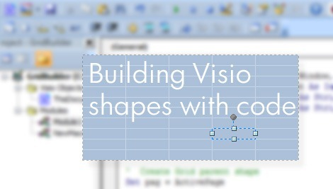 John Goldsmith's visLog: Building Visio shapes with code