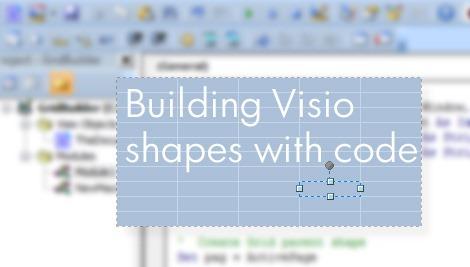 BuildingVisioShapesWithCode
