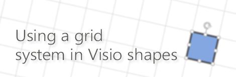 UsingAGridSystemInVisioShapes