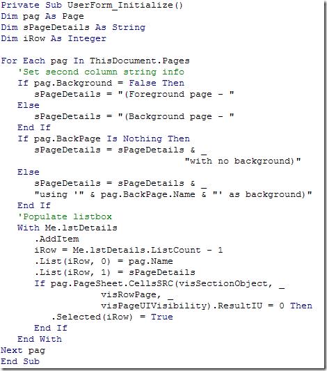 InitializeCode